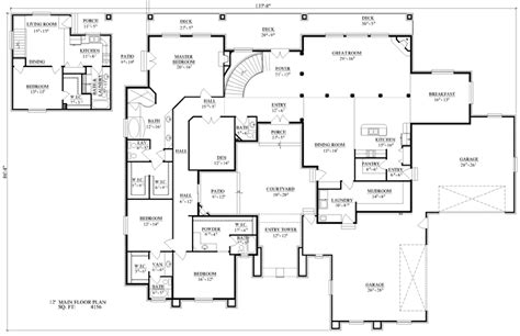 deer construction house plans