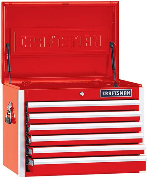 craftsman 26 inch 6 drawer tool chest new craftsman tool storage chests and cabinets for 2016