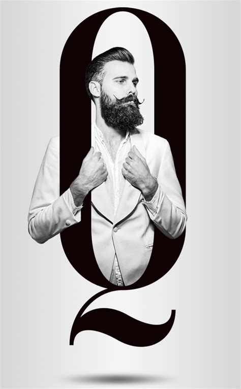 the letter black fashion alphabet with models on inspirationde 1657