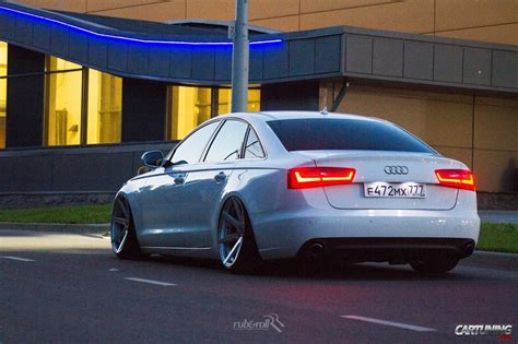 C7 Audi by Stanced Audi A6 C7 Rear