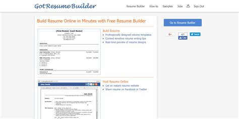 got resume builder best professional resume builders 187 css author