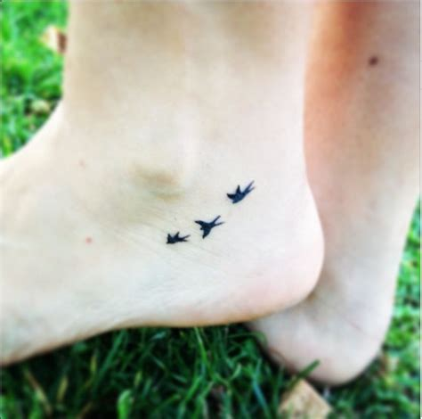 small bird tattoo on ankle bird tattoos askideas