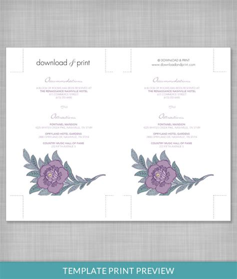 Free Printable Lace Template Card by Lace Flowers Enclosure Card Template Print