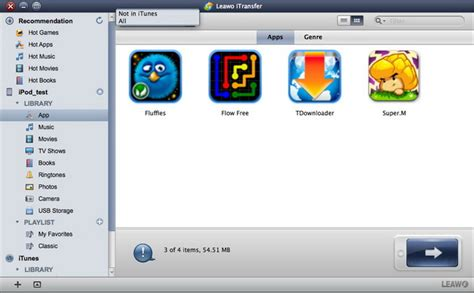 ordinare libreria itunes leawo itransfer for mac user guide trasferire file tra