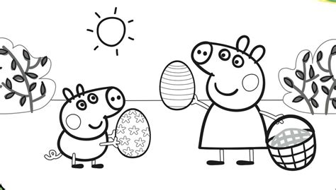 printable coloring pages peppa pig printable peppa pig coloring pages coloring home