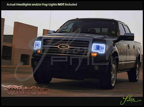 ford f150 halo lights oracle 09 14 ford f150 w o pro led halo rings head fog