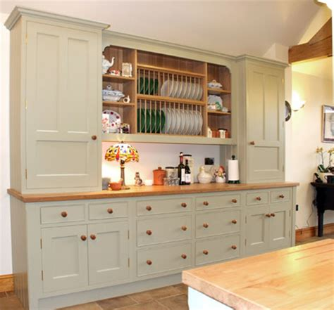 Kitchen Wall Dresser by Open Kitchen Shelving
