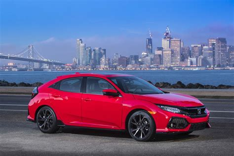 honda civic hatchback 2017 honda civic hatchback starts at 20 535 automobile