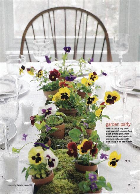 spring wedding flower centerpieces