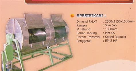 Jual Roti Pakan Ternak Semarang jasa pembuatan mesin industri dan usaha kecil menengah