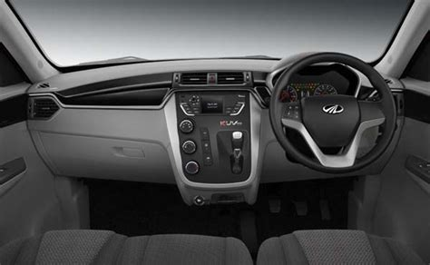 mahindra kuv100 interior pictures images photos space features design
