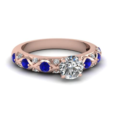 shop for exclusive side engagement rings