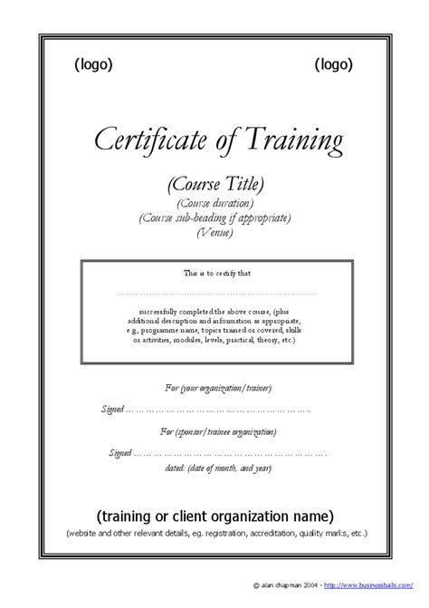 safe driving certificate template gallery templates
