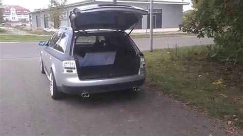 Audi A6 4b Heckklappe by Heckklappen 246 Ffnung Mit Fernbedienung A6 4b Avant