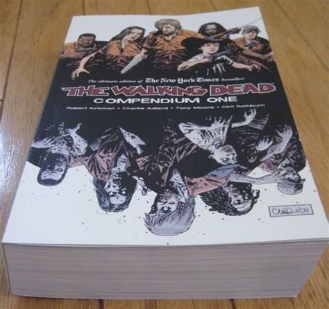 the walking dead compendium three walking dead compendium one boing boing