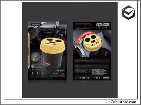 Lu Led Yang Bagus car charger remax rcc210 coffee cup led dual usb