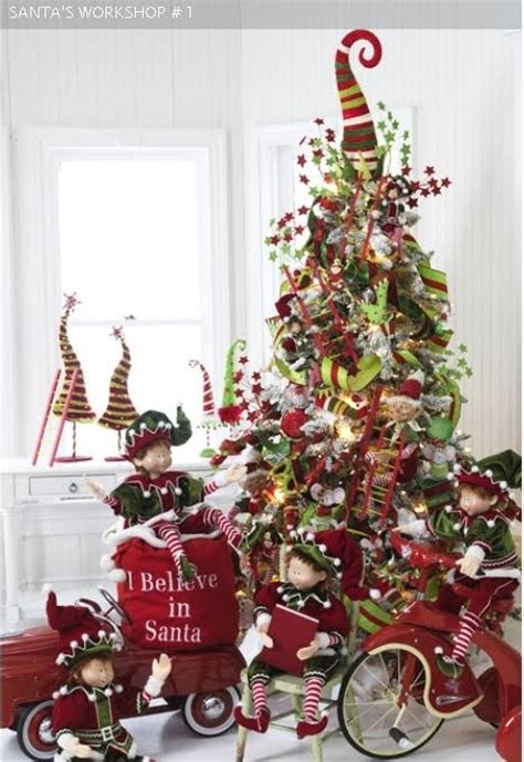 elf tree christmas ideas pinterest