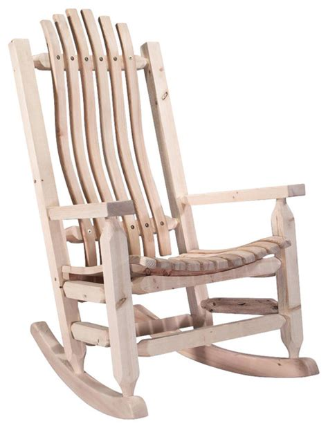 Rustic Rocking Chair » Home Design 2017
