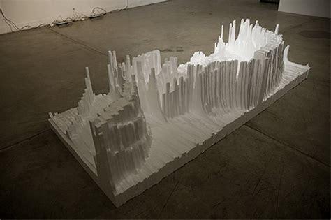 upcycled styrofoam sculptures art upcycle art