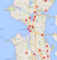 seattle map of neighborhoods seattle neighborhoods high population of children seattle real estate