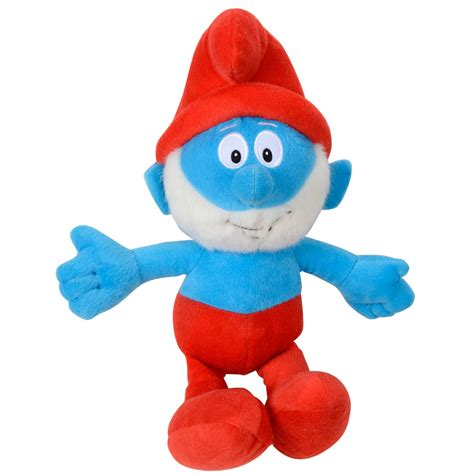 36cm 14 quot plush smurf soft toy characters smurf papa smurf