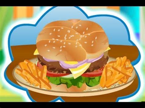 juegos cocinar hamburguesas juegos de cocinar hamburguesas