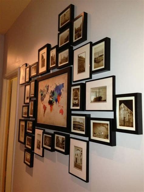 25 best ideas about travel wall decor on
