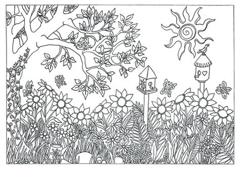 gallery for gt coloring pages for adults nature