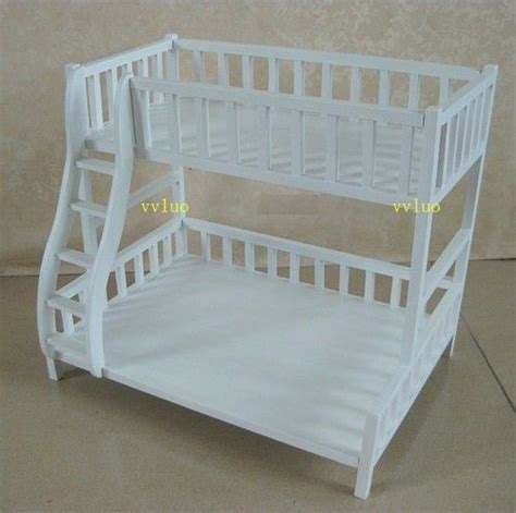 barbie doll beds white bunk beds furniture and beds on pinterest