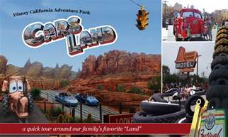 california adventure map with cars land cars land at disney california adventure park is our