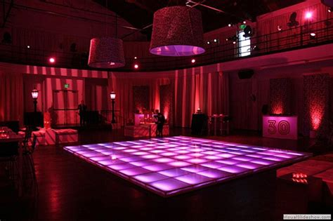 Floors And Decor Orlando led lit dance floor rental in hot pink dance floor rentals