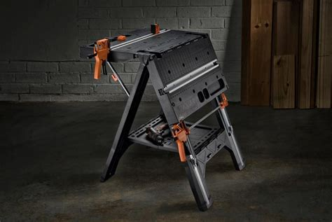 worx pegasus folding work table pegasus folding work table sawhorse wx051 worx