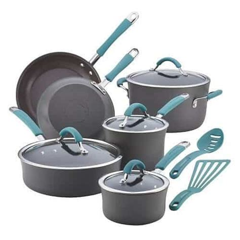 Rachael Ray Online Giveaway - rachael ray hard anodized cookware set review giveaway steamy kitchen recipes