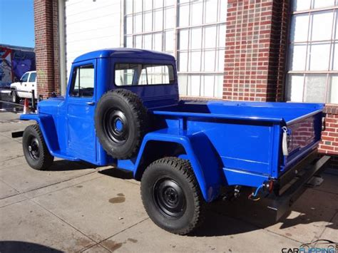 Jeep Truck 1960 1960 Jeep Willys Truck Carflipping Featuring The