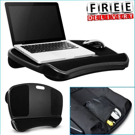 Laptop Desk Cushion Laptop Desk Portable Table Bed Cushion 17 Notebook Pad Computer Stand Tray Ebay