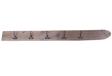Coat Rack Wooden by Vingtage Wooden Water Ski Coat Rack Omero Home