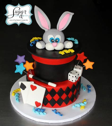 Cups Cake Magic magician cake the sweet cake magic and magician