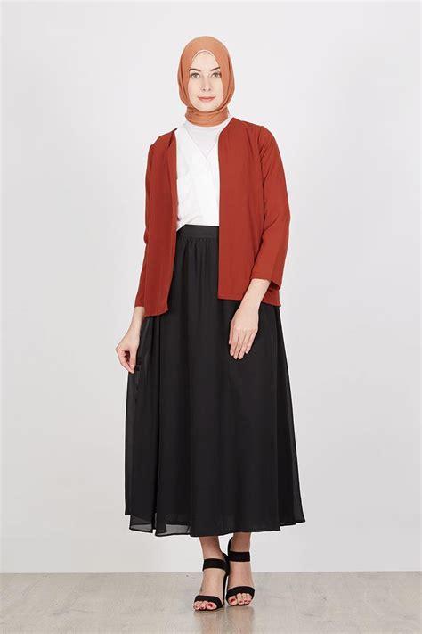 contoh baju setelan wanita muslimah untuk lebaran