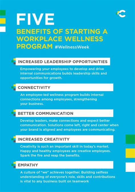 Benefits Of Mba Degree To A Company by 5 Benefits Of Starting A Workplace Wellness Program