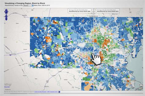 houston map by race on the records an interactive map of houston the