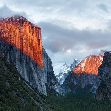 os x yosemite wallpaper for windows how to get os x el capitan wallpapers on iphone ipad