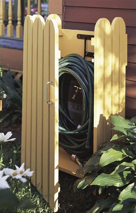 Garden Hose Hider Garden Hose Hider Woodworking Plan From Wood Magazine