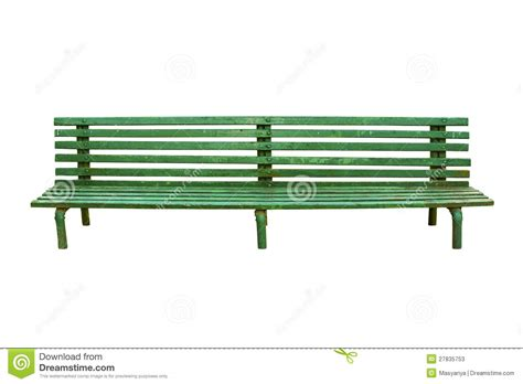 what is green bench green park bench isolated on white stock photos