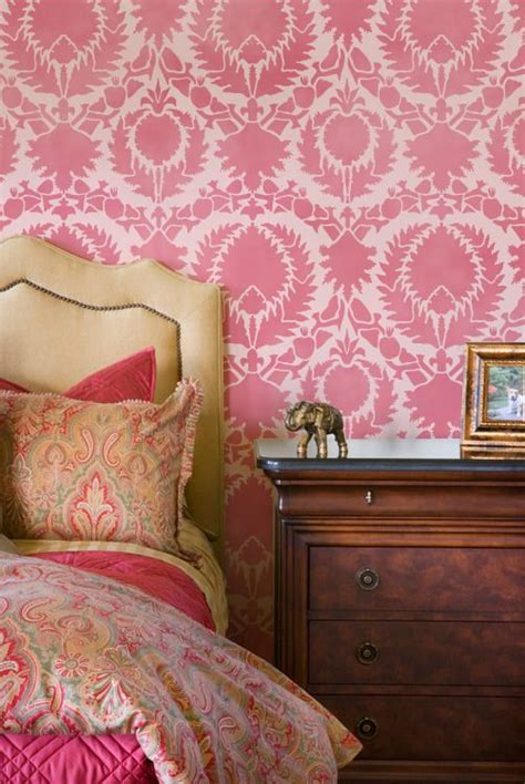 wall stencils for bedrooms 75 best images about color me pink on pinterest design