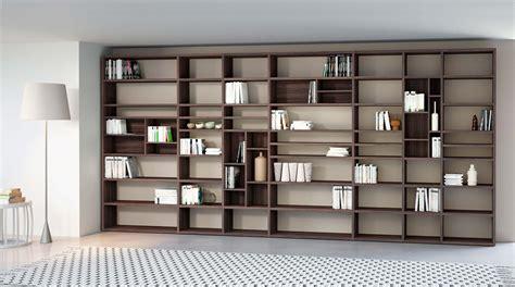 librerie legno componibili libreria componibile a parete systema p sololibrerie