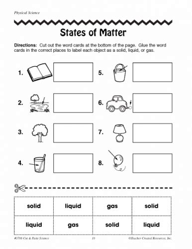 Do Mba Concentrations Matter by 3rd Grade Science Matter Worksheets Worksheets For All