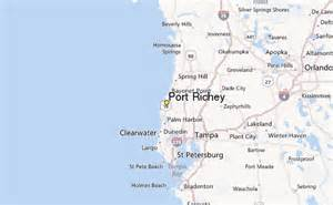 port richey weather station record historical weather