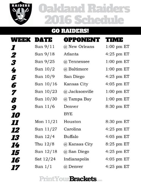printable schedule of nfl games 131 best printable nfl schedules images on pinterest