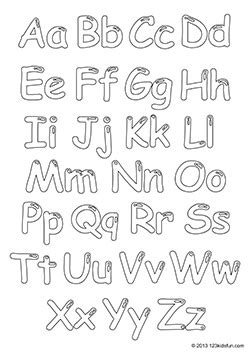 alphabet coloring pages baby shower free printable alphabet coloring pages for kids baby