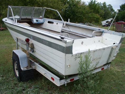 18 foot aluminum boat 18 foot boats for sale with aluminum used boats on oodle